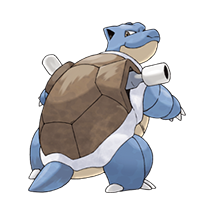 Blastoise в Pokemon Go