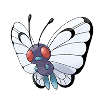 Butterfree в Pokemon Go