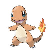 Charmander в Pokemon Go