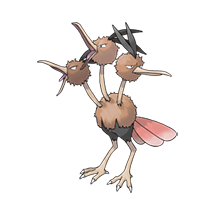 Dodrio в Pokemon Go