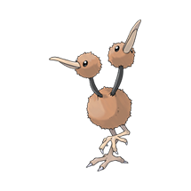 Doduo в Pokemon Go