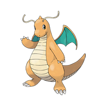 Dragonite в Pokemon Go