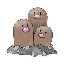 Dugtrio в Pokemon Go
