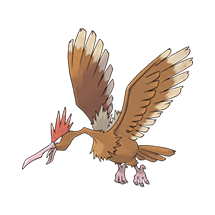 Fearow в Pokemon Go