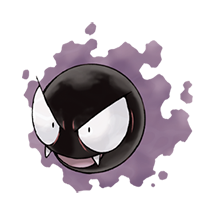 Gastly в Pokemon Go