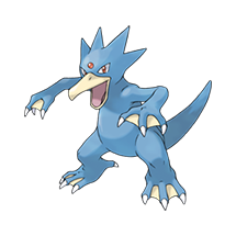 Golduck в Pokemon Go