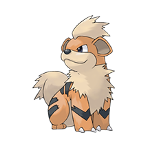 Growlithe в Pokemon Go