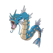 Gyarados в Pokemon Go