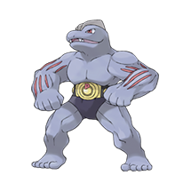Machoke в Pokemon Go