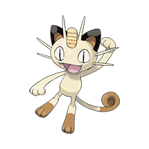 Meowth в Pokemon Go