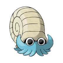 Omanyte в Pokemon Go