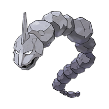 Onix в Pokemon Go