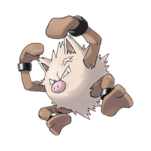 Primeape в Pokemon Go