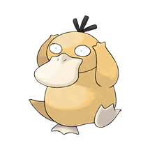 Psyduck в Pokemon Go