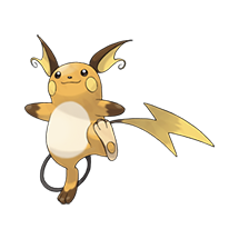 Raichu в Pokemon Go