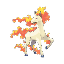 Rapidash в Pokemon Go