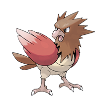Spearow в Pokemon Go