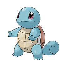 Squirtle в Pokemon Go