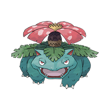 Venusaur в Pokemon Go