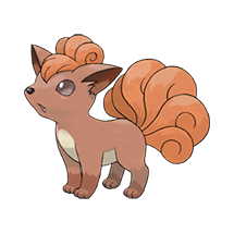 Vulpix в Pokemon Go