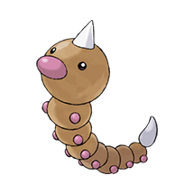 Weedle в Pokemon Go