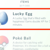Lucky Egg в Pokemon Go