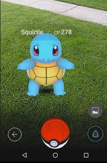 Pokemon Go CP Squirtle