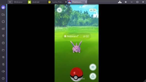 Pokemon Go Desktop