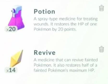 Pokemon Go Healin