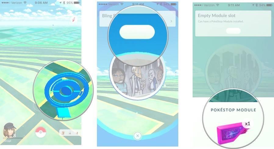 Pokemon-Go-установка lure модуля