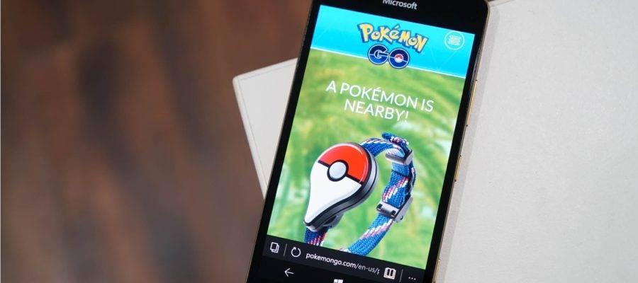 Pokemon Go Windows Phone